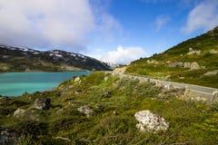 Дорога Strynefjellet в Норвегии Стоковые Изображения RF
