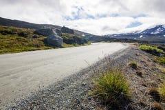 Дорога Strynefjellet в Норвегии Стоковые Фото