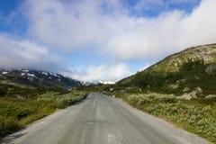 Дорога Strynefjellet в Норвегии Стоковая Фотография