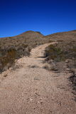 дорога texas гравия пустыни западный Стоковое Изображение RF