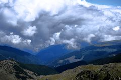 Дорога Transalpina, Румыния Стоковые Фото