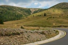 Дорога Transalpina Стоковые Фото