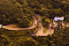 Дорога Wayanadu стоковое изображение rf