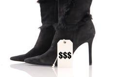 дорогие ботинки Стоковые Фото