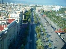 Дороги Барселоны Стоковая Фотография RF