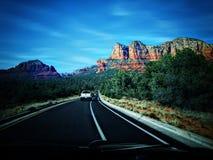 Дороги в Аризоне стоковое фото rf