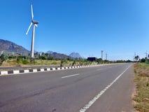 Дороги в Индии Стоковая Фотография