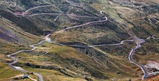 дороги гор Стоковая Фотография RF