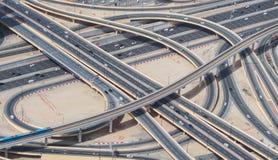 Дороги Дубай Стоковое фото RF