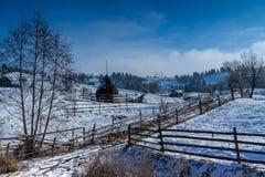 Дороги деревни Стоковые Изображения
