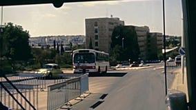 Дороги Иерусалима сток-видео