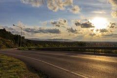 Дороги и ландшафты Стоковое Изображение RF