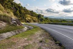 Дороги и ландшафты Стоковое Изображение