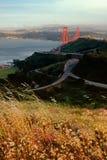 Дороги около моста золотого строба Стоковые Фотографии RF
