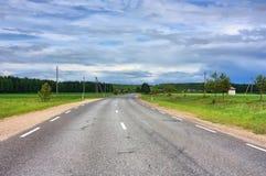 дороги сельские Стоковое Изображение RF