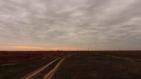 Дороги степи Стоковые Фотографии RF