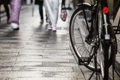 Дорожка велосипеда Стоковая Фотография RF