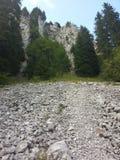 Дорожка в Альпах Стоковые Фотографии RF