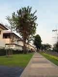 Дорожка в недвижимости дома парка Стоковое Изображение