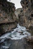 Дорожка вдоль реки Стоковая Фотография RF