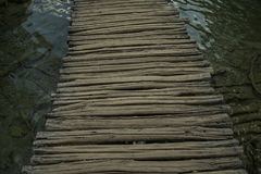 Дорожка деревянная Стоковая Фотография RF