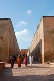 дорожка Индии форта agra Стоковая Фотография