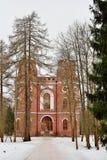 Дорожка к павильону арсенала в городке Pushkin внутри Стоковые Фотографии RF
