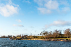 Дорожка на портовом районе Стоковое Изображение