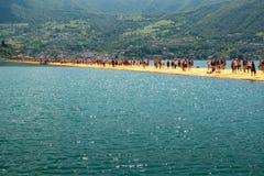 Дорожка плавая пристаней самая длинная Стоковое фото RF