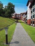 дорожка ntu hall8 стоковое изображение
