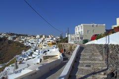 Дорожка Santorini Стоковое Фото
