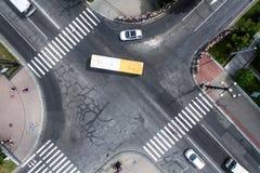 Дорожное движение в городе Стоковые Изображения RF