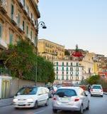Дорожное движение Неаполь, Италия Стоковое Изображение RF