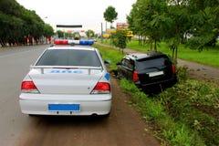 Дорожное происшествие Стоковое фото RF