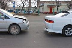 Дорожное происшествие Стоковые Фото