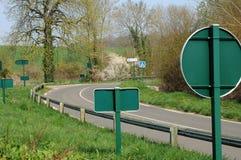 дорожные знаки страны d Франции oise val Стоковые Фотографии RF