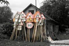 дорожные знаки Стоковая Фотография RF