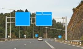 дорожные знаки Стоковое Изображение RF