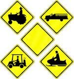 дорожные знаки Иллюстрация штока