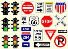 дорожные знаки Стоковые Фотографии RF