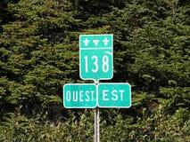 дорожные знаки Стоковое фото RF