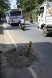 Дорожные работы Sri Lankan Стоковые Изображения RF