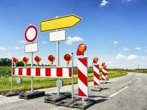 Дорожный блок стоковые изображения rf