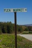 дорожный знак блошинного Стоковая Фотография RF
