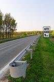 дорожный знак газа Стоковое Изображение RF