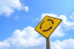 Дорожный знак кольца Стоковая Фотография RF