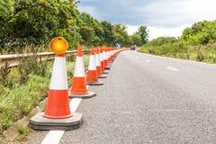 Дорожный знак обслуживаний шоссе Великобритании Стоковая Фотография RF