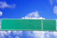 Дорожный знак шоссе стоковые фотографии rf