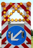дорожный знак Стоковые Изображения RF