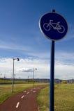 дорожный знак bike Стоковое Фото